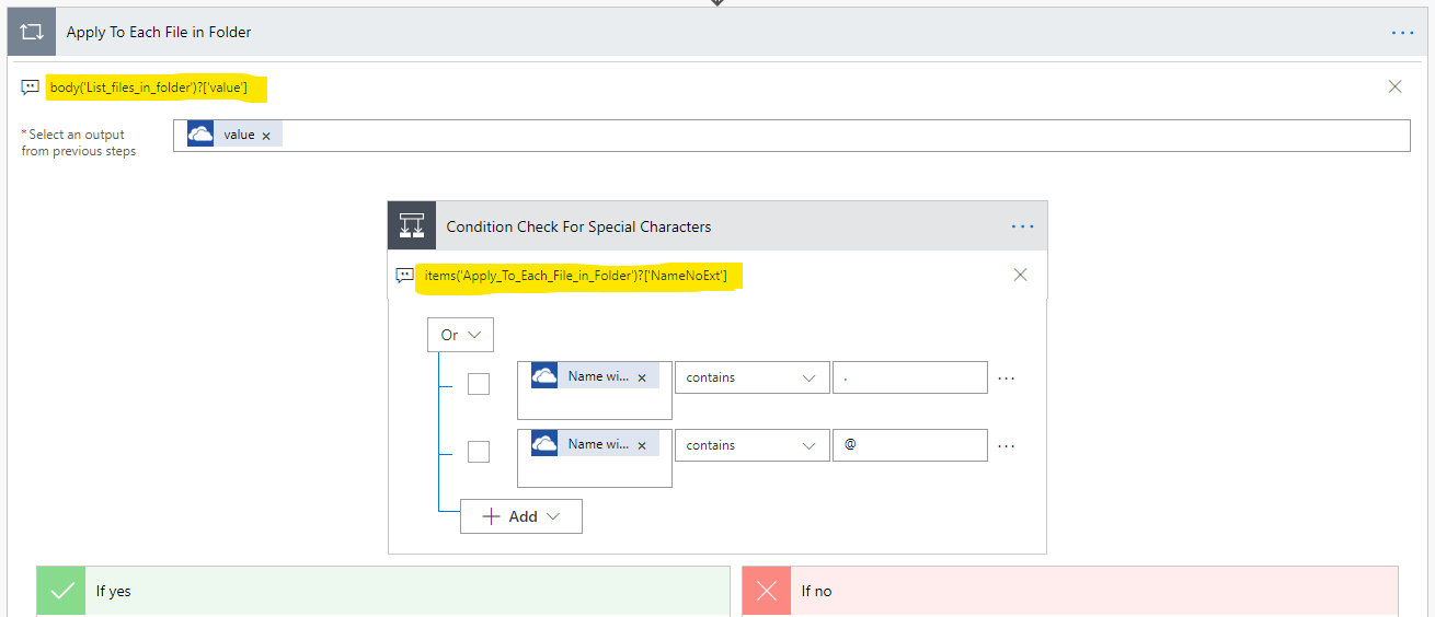 Flow: Rename Files in OneDrive For Business That Have Dots, Periods
