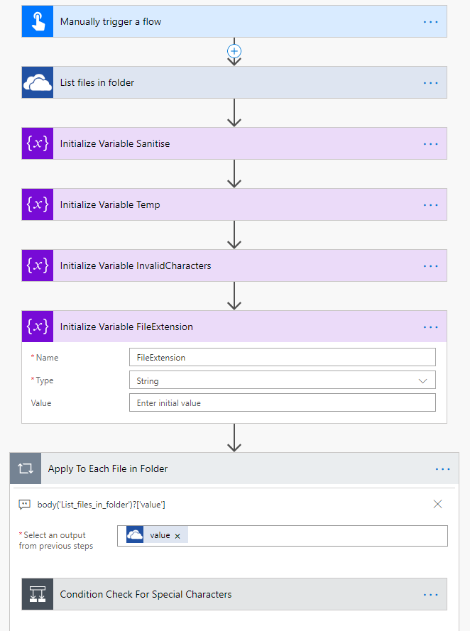 Flow: Rename Files in OneDrive For Business That Have Dots